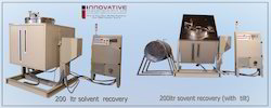 Flexo Solvent Recovery Machine