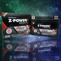 Z-power Smf Vrla Motorcycle Battery, Capacity: 2.5 To 12 Ah