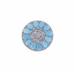 Turquoise Gemstone Cocktail Ring