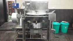 SS Continuous Feed Stove Mawa Mixer