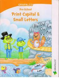 Grafalco Print Capital and Small Letter Book