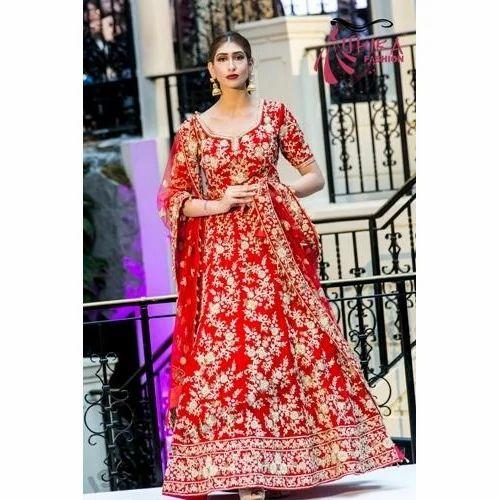 f92a3e051d6 Party Wear Lehengas - Designer Bridal Lehenga Exporter from Delhi