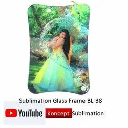 Sublimation Glass Frame BL 38