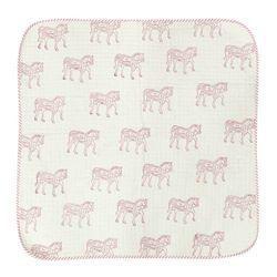 Fancy Animal Print Baby Quilt