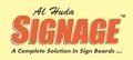Al Huda Signage