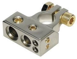 Brass Press Lock Battery Terminal