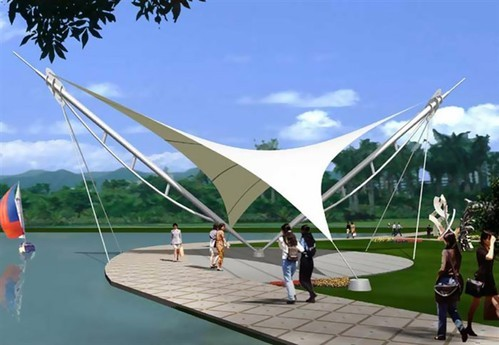 Tensile Fabric Structures Outdoor Tensile Fabric