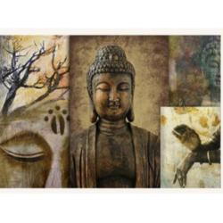 Antique Buddha Acrylic Paintings Art