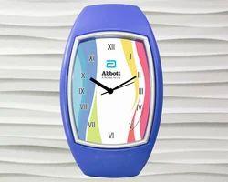 Oval Shape Wall Clock