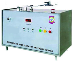 ENAMELED WIRE STATIC FRICTION TESTER