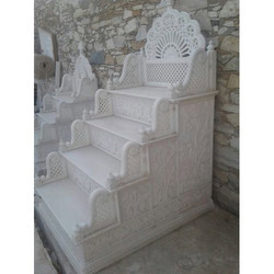 Temple Marble Side Stair