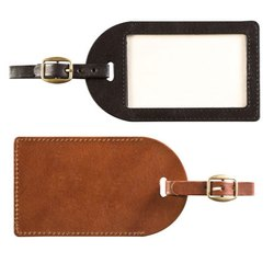 Leather Luggage Bag Tag