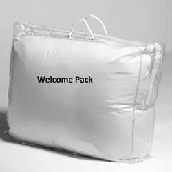 Transparent Blanket Bag