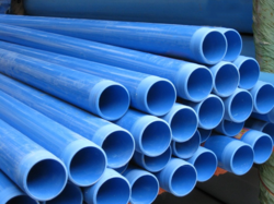 PVC Blue Threaded Pipe
