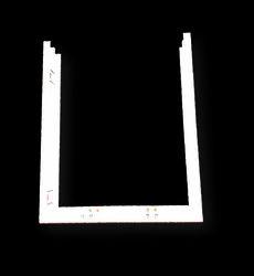 Concealed Cistern Half Frame 520 X 625mm