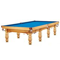 Natural Finish Snooker Table