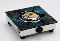 One Burner Glass Top LPG Gas Stove