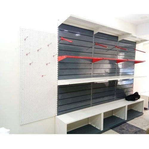 Garments Display Rack Wall Mounted Garment Rack Manufacturer From