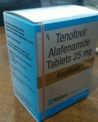 Hepbest 25mg Tenofovir Alafenamide Tablets
