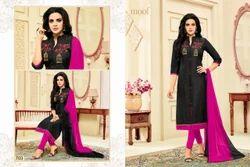 Collar Neck Shaista Salwar Suit Fabric