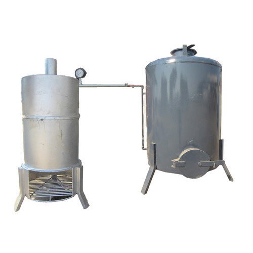 Cashew Cooker with Steamer Machinery