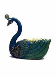 Big Size Peacock Shape Plant Pot