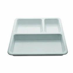 Polycarbonate Pav Bhaji Plate