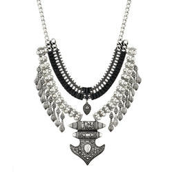 Oxdised Western Necklace - FN0652