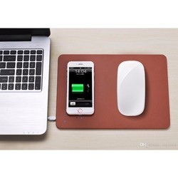 Mouse Pad with Wireless Charger