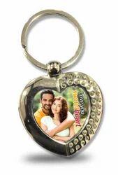 SMK-03 Metal Heart Key Chain