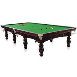 Snooker Table With Long Cue
