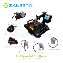 8 in 1 Combo Multi Function Heat Press Machine