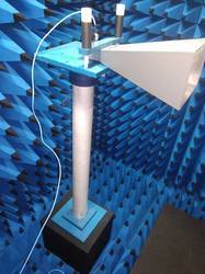 Anechoic Chamber with Measurement Setup
