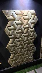 Teak Wood Molding Wall Mosaic Tile