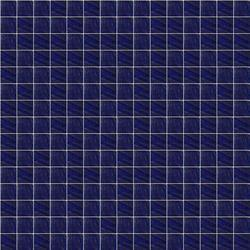 D113A Blue Decora Plain Color Glass Mosaics
