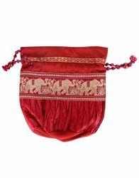 Designer Patch Work Bag Pouch