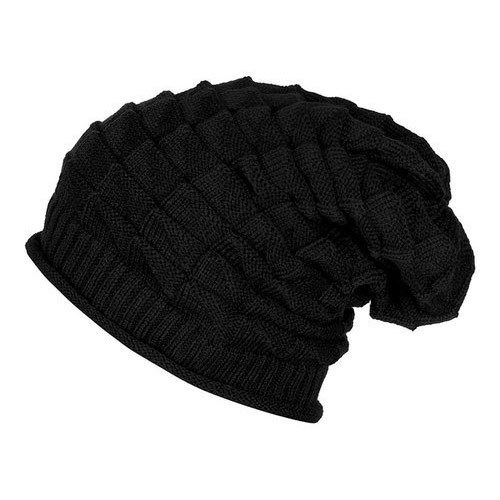 Designer Beanies - Brown Knitted Slouchy Beanie Manufacturer from ... ef56f9d6b76