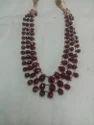 Ruby Cut Beads