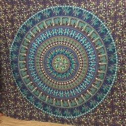 Mandala Tapestry Boho Decorative Hanging Dorm Decor Bedsheet
