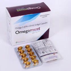Omega-3 Fatty Acids Providing Eicos Soft Gelatin Capsules