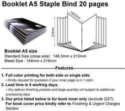 Product Technical Booklet Color Or Bloack N White A5 Or A4 Or A3 Sizes