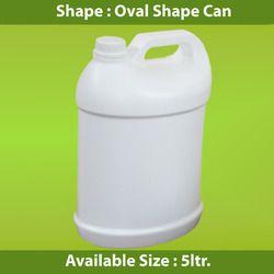 Oval Shape Jerry Can
