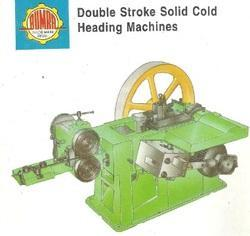Double Stroke Solid Cold Heading Machine
