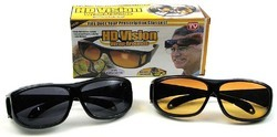 2  Set Of Hd Vision Sunglasses