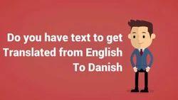 Danish To English Translation