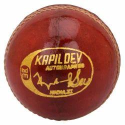 BDM Kapil Dev Autograph Leather Ball
