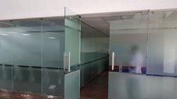 Toughened Glass Door and Partition