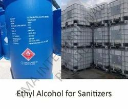 Ethyl Alcohol For Sanitizers