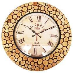Wooden Vintage Clock
