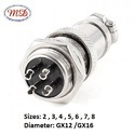 4 Pin Metal Round Connector